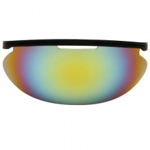 Diamond Sun Visor - IRIDIUM