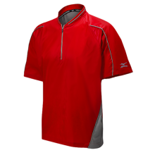 Mizuno Protect Batting Jersey(Red) - Adult