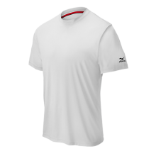 Mizuno Comp Short Sleeve Crew(White) - Adult
