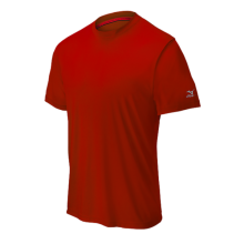 Mizuno Comp Short Sleeve Crew(Red) - Adult