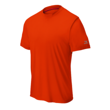 Mizuno Comp Short Sleeve Crew(Orange) - Adult