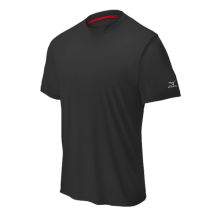 Mizuno Comp Short Sleeve Crew(Black) - Adult