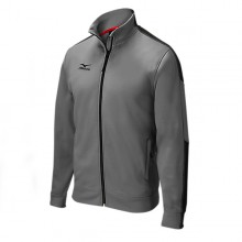 Mizuno Elite Thermal Jacket(Grey/Black) - Adult