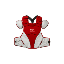 Mizuno Adult Samurai Catcher's Chest Protector(RED-GREY)