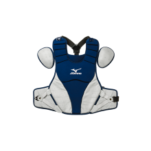 Mizuno Adult Samurai Catcher's Chest Protector(NAVY-GREY)