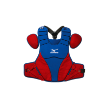 Mizuno Adult Samurai Catcher's Chest Protector(ROYAL-RED)