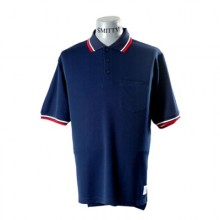 Adams USA Smitty Umpire Shirt with Front Chest Pocket - NAVY