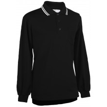 Adams USA Smitty long sleeve Umpire Shirt with Front Chest Pocket - BLACK