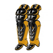 Mizuno Samurai Shin Guards G3(BLACK-YELLOW)