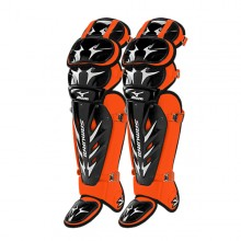 Mizuno Samurai Shin Guards G3(BLACK-ORANGE)
