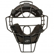 Diamond Big League Umpire Face Mask - Black
