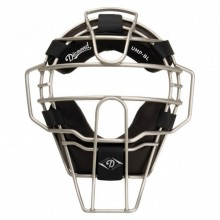 Diamond Big League Umpire Face Mask - Silver