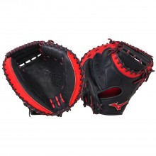 Mizuno MVP Series GXC50PSE3 Catchers Mitt(Navy/Red)
