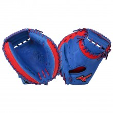 Mizuno MVP Series GXC50PSE3 Catchers Mitt(Royal/Red)