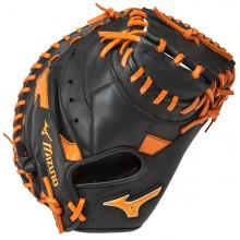 Mizuno MVP Prime SE 34 Inch GXC50PSE5 Catchers Mitt(Black/Orange)