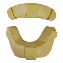 Diamond Umpire's Face Masks FM-RP Leather Replacement Pads (Tan)