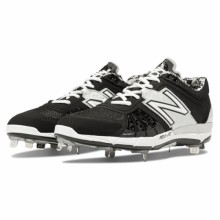 New Balance L3000BK2 - Black/Silver Low 3000v2 Baseball Cleats