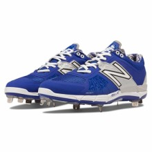 New Balance L3000TB2 - Royal/Silver Low 3000v2 Baseball Cleats