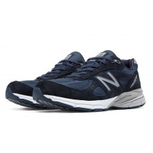 New Balance - Men's M990v4 (Navy/Silver)
