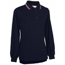Adams USA Smitty long sleeve Umpire Shirt with Front Chest Pocket - NAVY