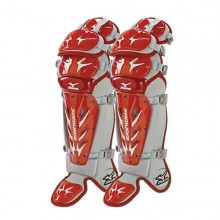 Mizuno Samurai Shin Guards G3(RED-GREY)