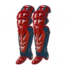 Mizuno Samurai Shin Guards G3(RED-NAVY)