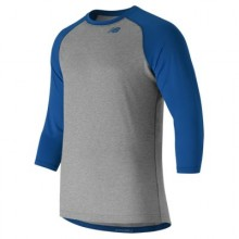 New Balance 3/4 Baseball Raglan Top (Royal)