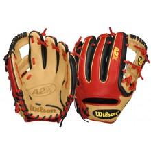 "Wilson A2K DATDUDEGM Infield Glove - 11.5"""